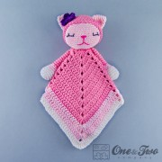 Kitty Security Blanket Crochet Pattern