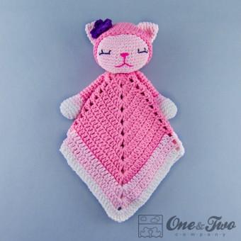 Kitty Security Blanket Crochet Pattern