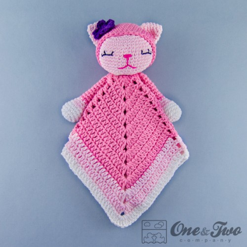 Free Pattern Crochet Lovey : Kitty Lovey and Amigurumi Crochet Patterns Pack