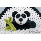 Panda Security Blanket Crochet Pattern