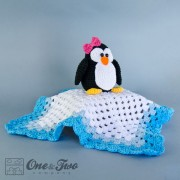 Penguin Security Blanket Crochet Pattern