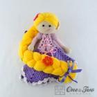 Rapunzel Security Blanket Crochet Pattern