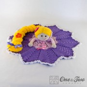 Rapunzel Security Blanket Crochet Pattern