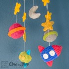 Space Mobile Crochet Pattern