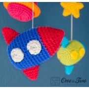 Space Mobile Crochet Pattern