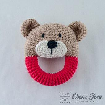 Teddy Bear Rattle Crochet Pattern
