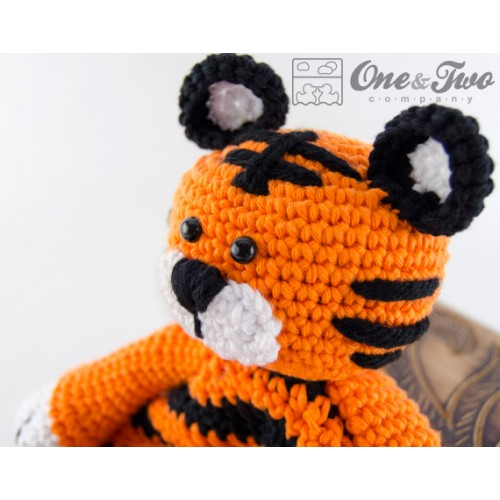 PATTERN: Toby the Tiger - Crochet tiger pattern - amigurumi tiger ... | 500x500