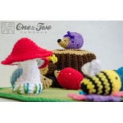 Adventure on the Woods Playset Crochet Pattern