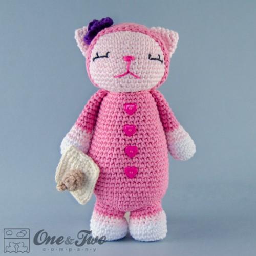Crochet Amigurumi Kitty : Kitty Amigurumi Crochet Pattern