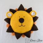 Lion Pillow Crochet Pattern