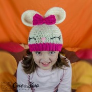 Olivia the Bunny Hat Crochet Pattern