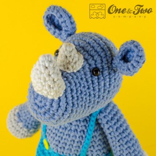 Star Wars Amigurumi Crochet Pattern Free : Max the Rhino Amigurumi Crochet Pattern