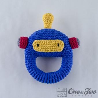 Robot Rattle Crochet Pattern