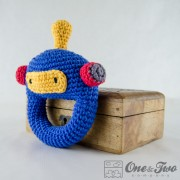 Robot Rattle Crochet Pattern