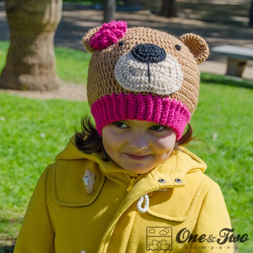 Crochet Bear Hat Free Pattern : Teddy Bear Hat Crochet Pattern