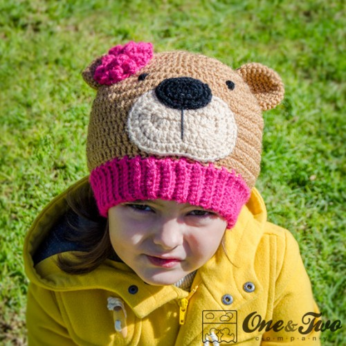 e62e467d2e3 Teddy Bear Hat Crochet Pattern