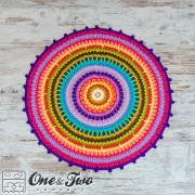 Colorful Rug Crochet Pattern