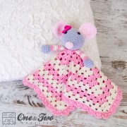 Emily the Mouse Security Blanket Crochet Pattern