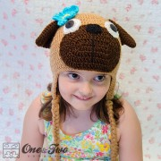 Puppy Pug Hat Crochet Pattern