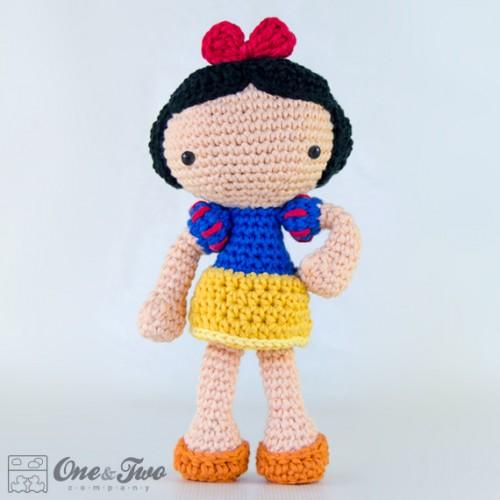 Free Amigurumi Patterns Crochet : Snow White Amigurumi Crochet Pattern