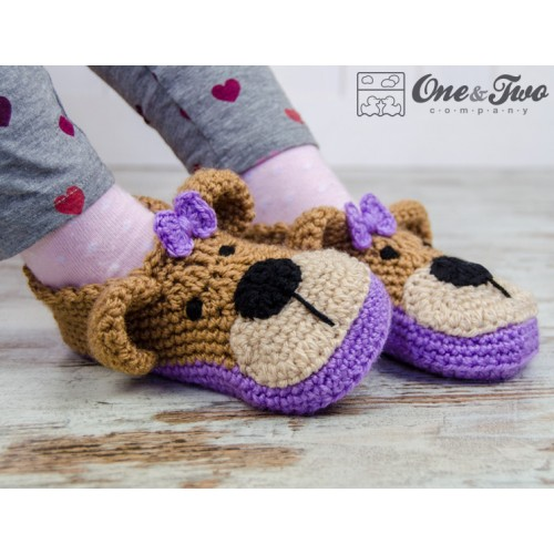 Teddy Bear Booties Pack - Baby, Toddler and Child sizes ...