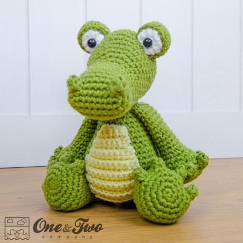 Amigurumi Alligator Free Pattern : Crocodile Amigurumi Crochet Pattern