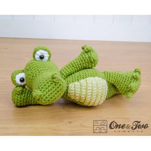Crocodile Amigurumi Crochet Pattern