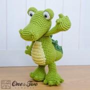 Crocodile Lovey and Amigurumi Crochet Patterns Pack