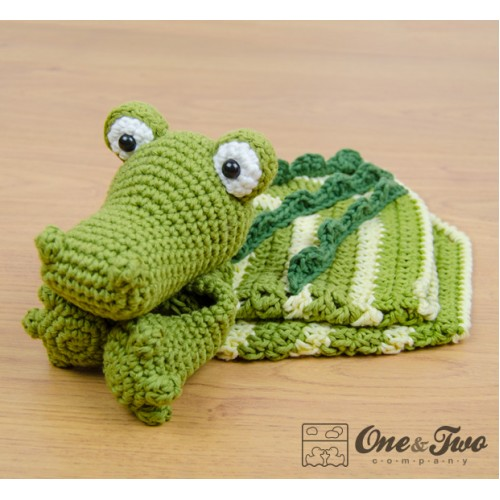 Free Crochet Pattern For Alligator Blanket ~ SquareOne for .