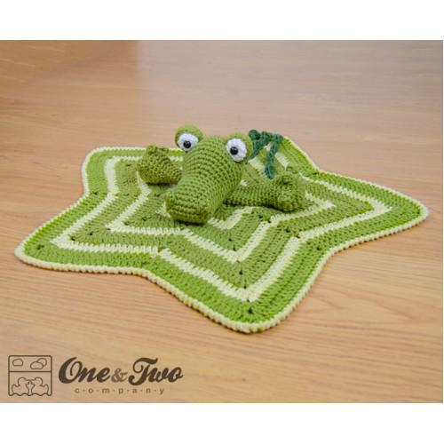 Alligator Security Blanketocodile Security Blanket Crochet
