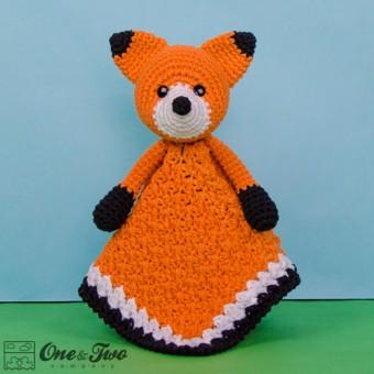 Flynn the Fox Security Blanket Crochet Pattern