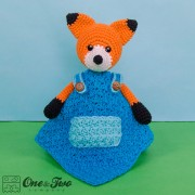 Flynn the Fox Security Blanket Crochet Pattern
