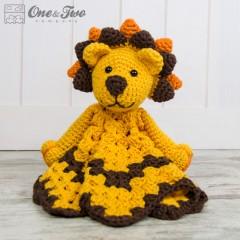 Logan the Lion Security Blanket Crochet Pattern