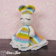 Olivia the Bunny Lovey and Amigurumi Crochet Patterns Pack