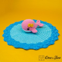 Willa the Whale Security Blanket Crochet Pattern