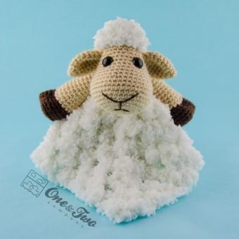 Chloe the Sheep Security Blanket Crochet Pattern