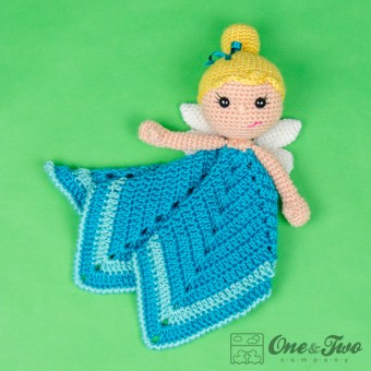 Ella the Fairy Security Blanket Crochet Pattern
