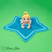 Ella the Fairy Security Blanket Crochet Pattern