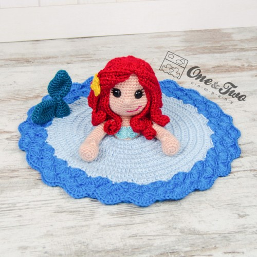Marina The Mermaid Lovey And Amigurumi Crochet Patterns Pack