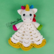 Nuru the Unicorn Security Blanket Crochet Pattern