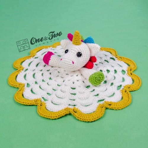 Nuru The Unicorn Lovey And Amigurumi Crochet Patterns Pack