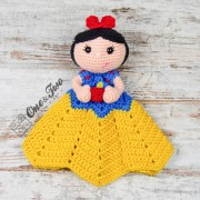 Snow White Security Blanket Crochet Pattern