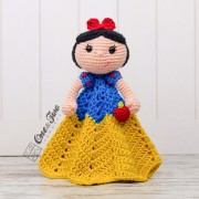 Snow White Security Blanket Crochet Pattern
