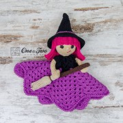 Willow the Witch Security Blanket Crochet Pattern