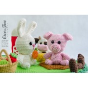 Adventure on the Farm Playset Crochet Pattern