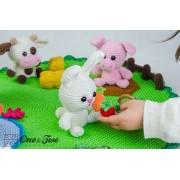 Adventure on the Farm Playset Crochet Pattern