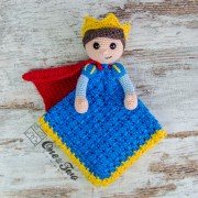 Prince Tristan Security Blanket Crochet Pattern