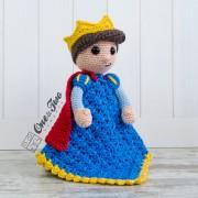 Prince Tristan Security Blanket Crochet Pattern