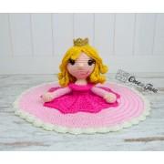 Princess Rose Lovey and Amigurumi Crochet Patterns Pack
