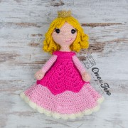 Princess Rose Security Blanket Crochet Pattern